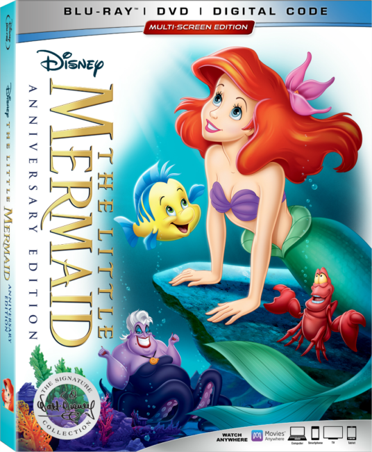 Disney's The Little Mermaid Anniversary Edition Walt Disney Signature Collection