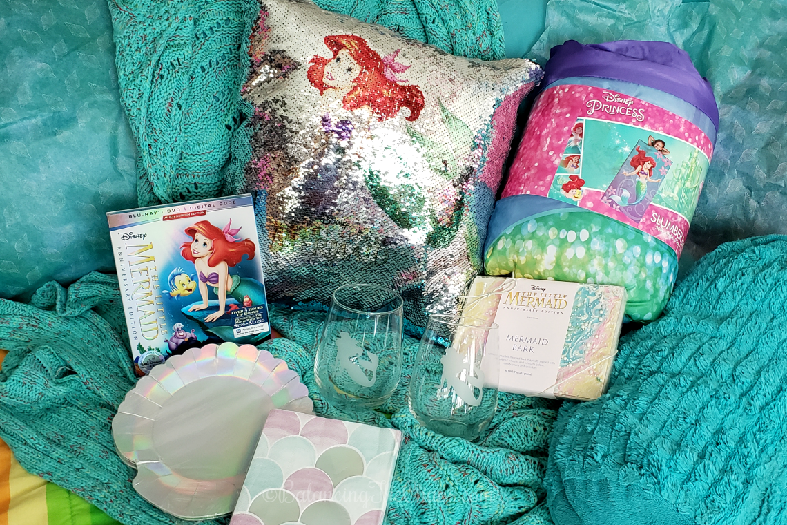Little Mermaid ideas for in home movie screening