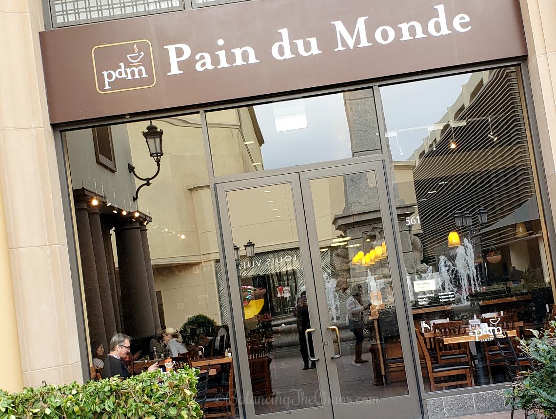 PDM Pain du Monde Fashion Island Newport Beach