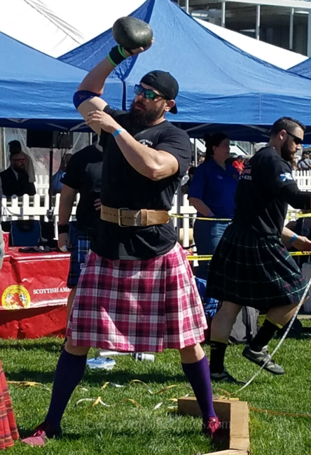 ScotsFest Highland Games at the Queen Mary