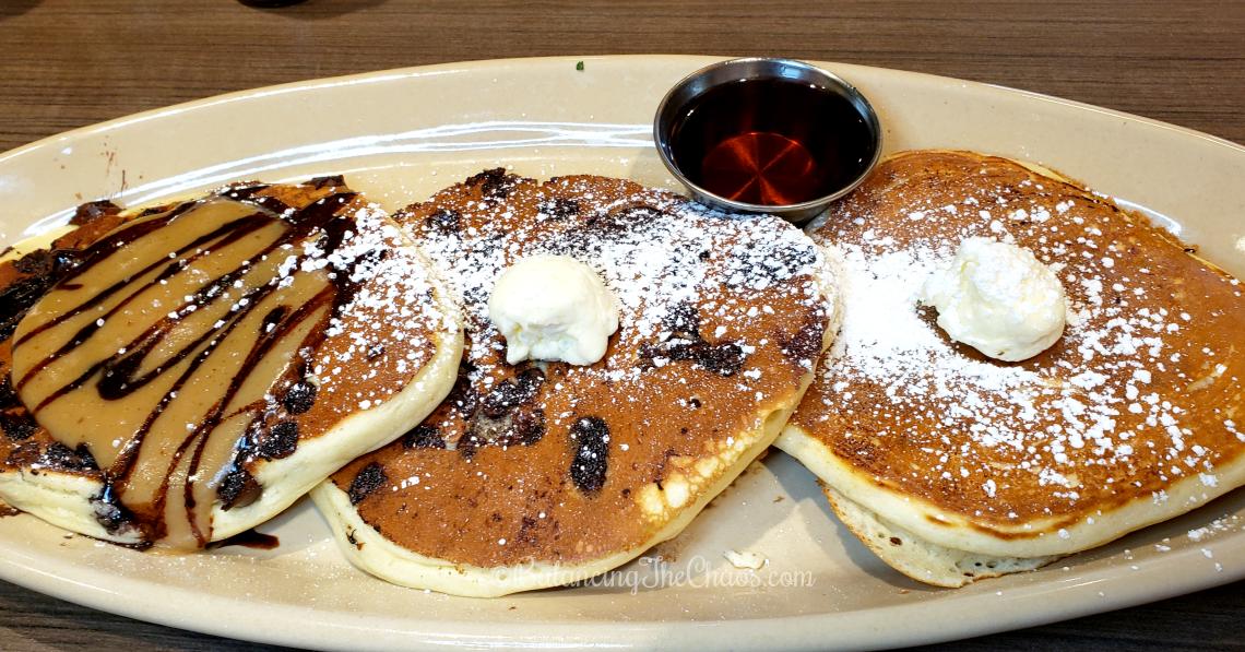 Snooze A.M. Eatery Pancake Flight