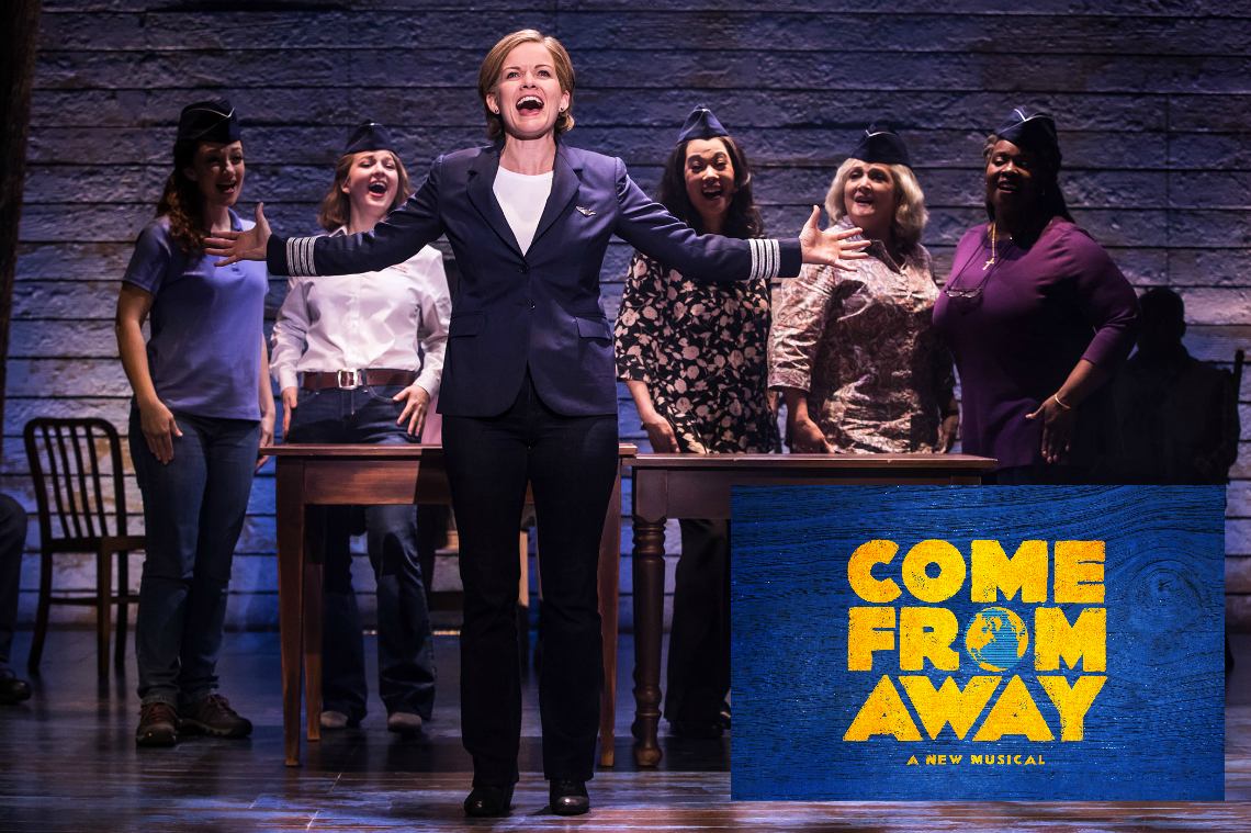 The First North American Tour of Come From Away at Segerstrom Center by Matthew Murphy 2018