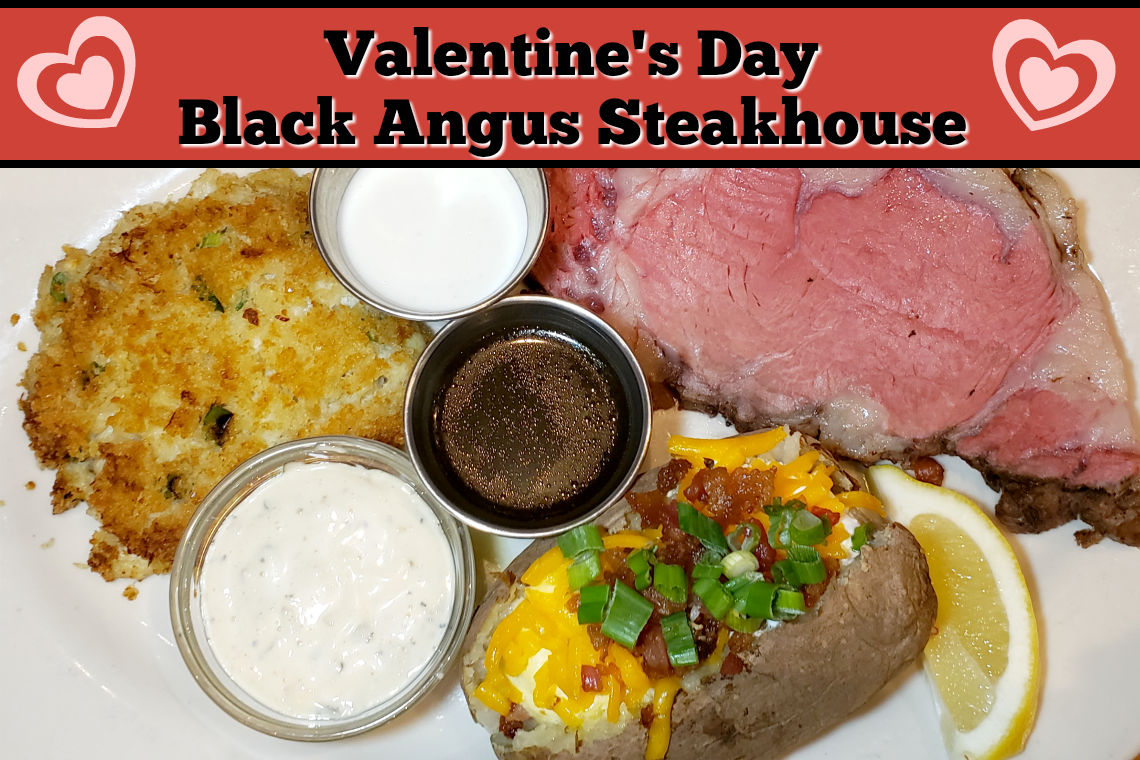 Valentine's Day at Black Angus Steak House