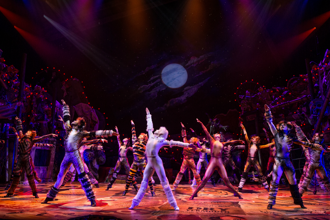 Jellicle Cats at Segerstrom Center for the Arts Cats The Musical on Tour