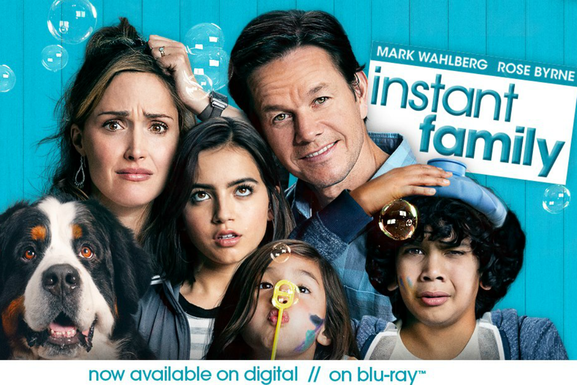 Instant Family Blu-Ray DVD