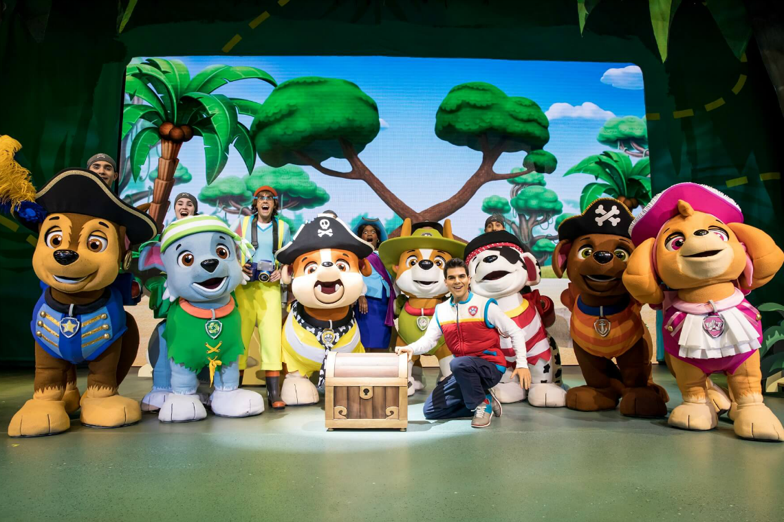 Paw Patrol Live at the Fox Performing Arts Theater Photo Courtesy Paw Patrol Live