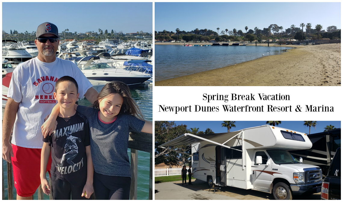 Spring Break Vacation - Newport Dunes Waterfront Resort and Marina
