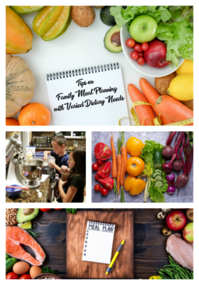 Tips on Family Meal Planning with Varied Dietary Needs Kaiser Permanente