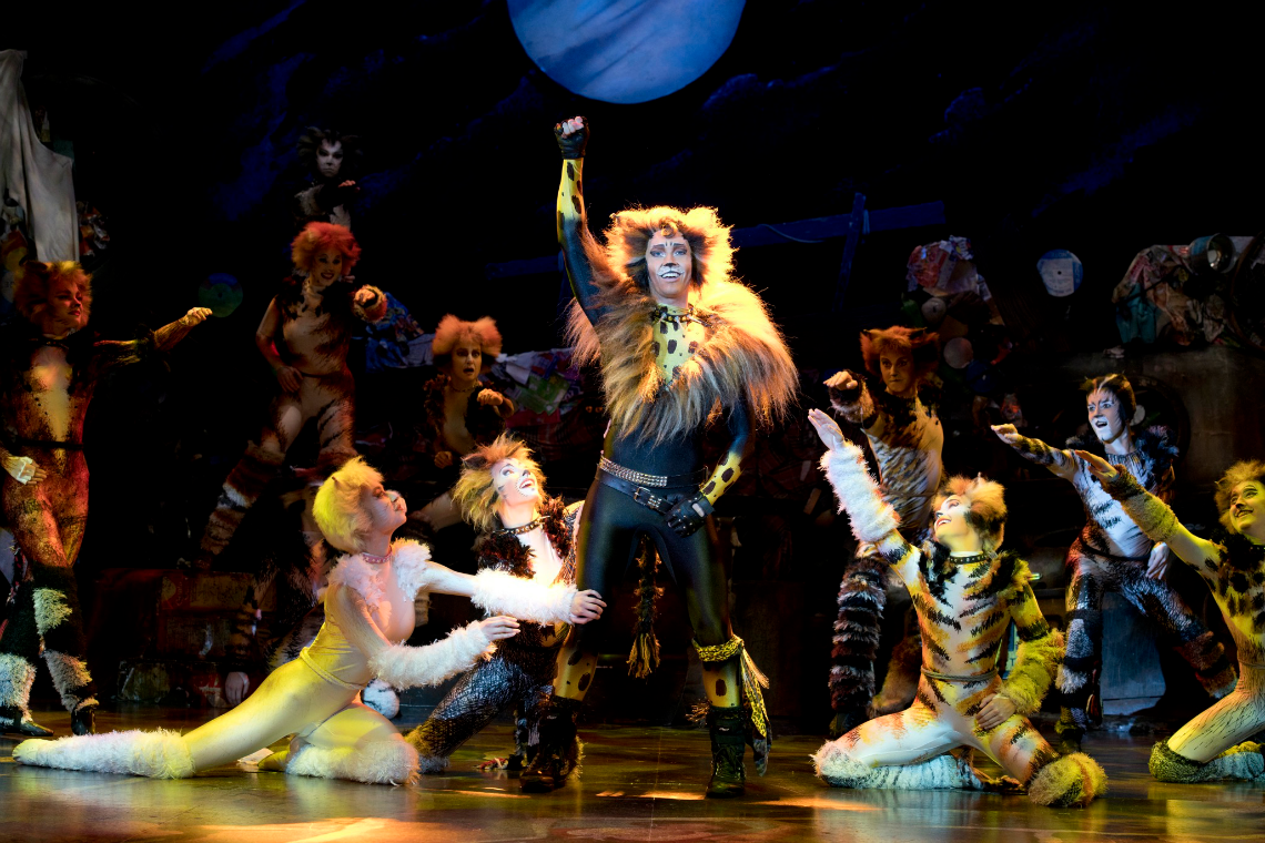 Cats the Musical on Tour At Segerstrom Center for the Arts Tugger