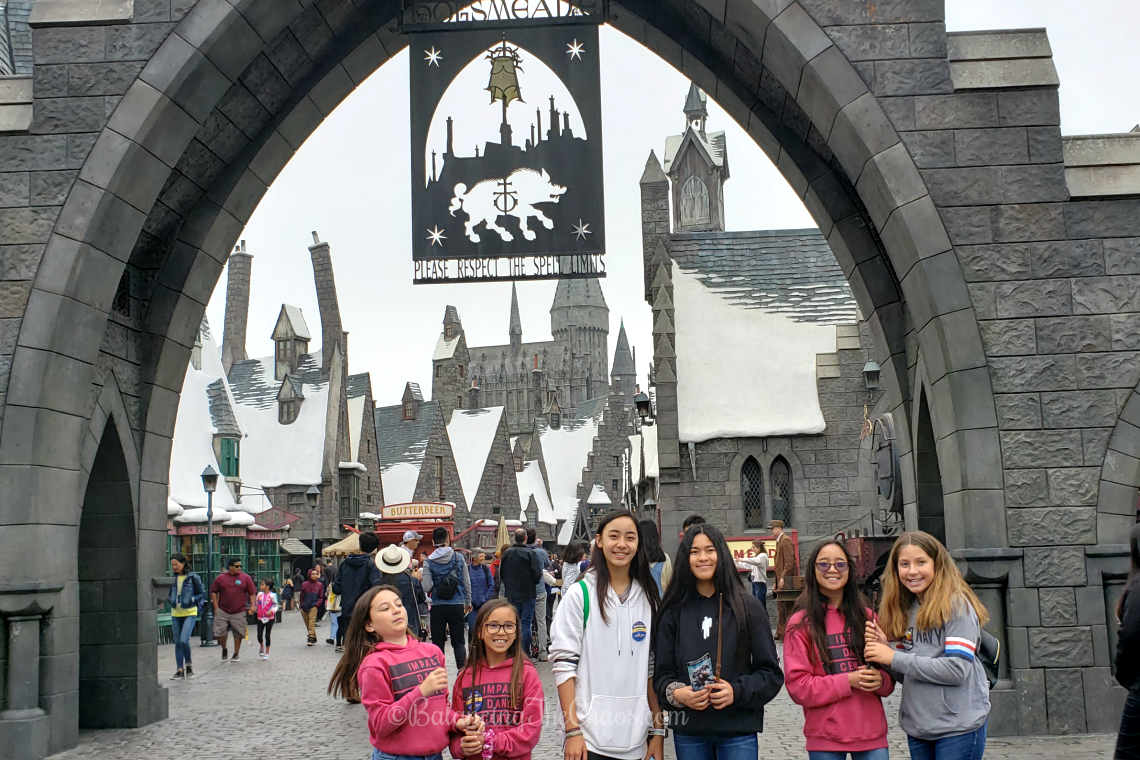 Hogsmeade Entrance Wizarding World of Harry Potter