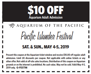 photograph about Aquarium of the Pacific Coupons Printable titled Pacific Islander Competition At The Aquarium Of The Pacific