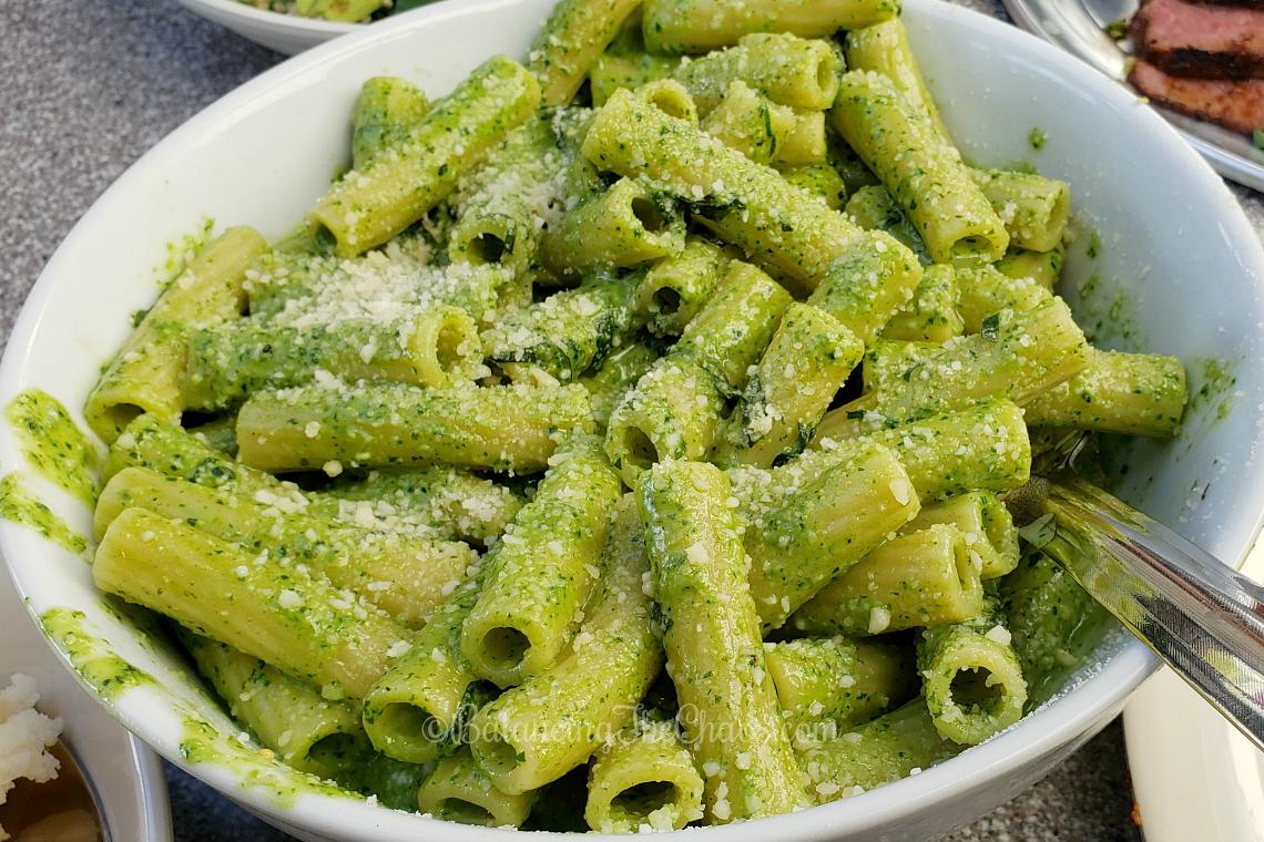 Pesto Pasta at Stonefire Grill