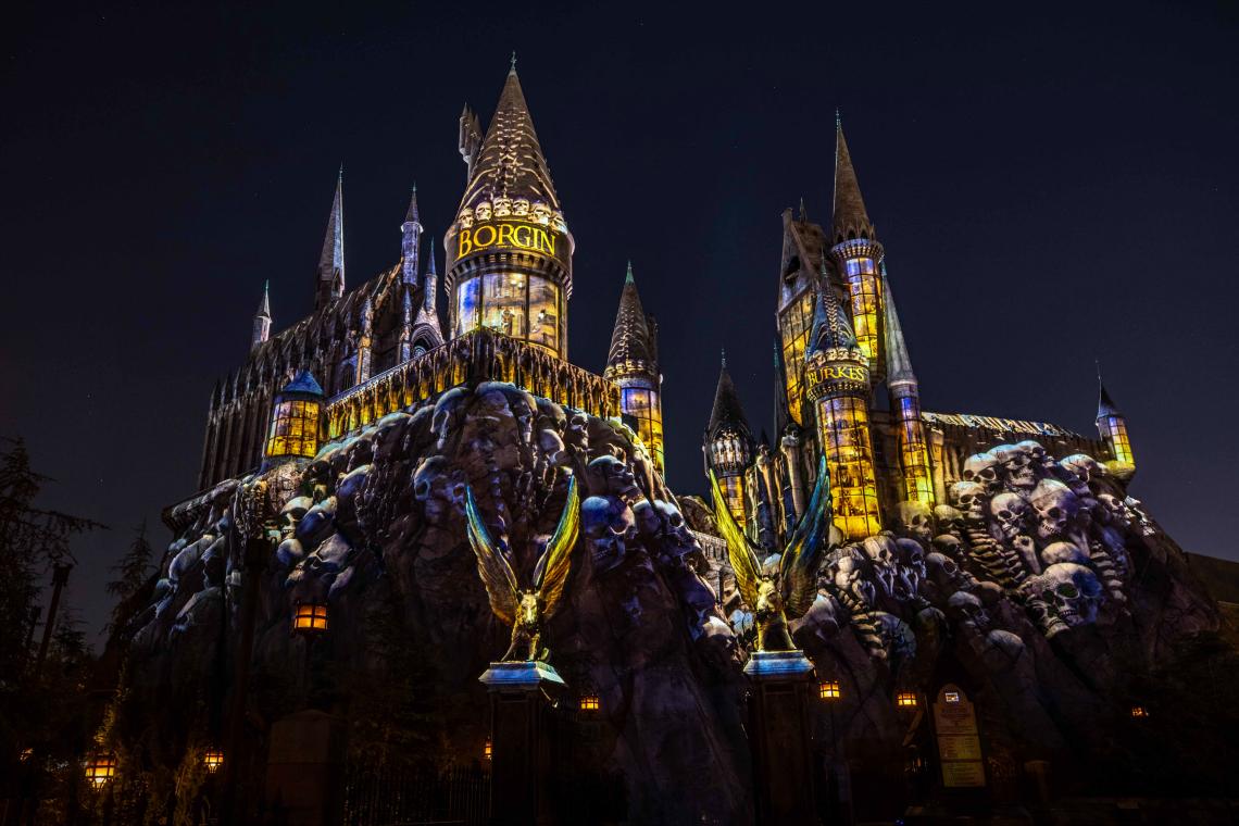 "The ""Dark Arts at Hogwarts Castle"