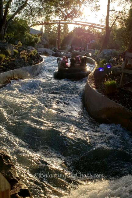 Knott's River Rapid, White water rapid ride