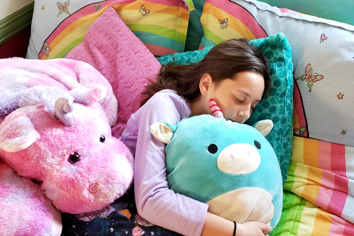 Better Sleep Month, Sleep Like A Kid