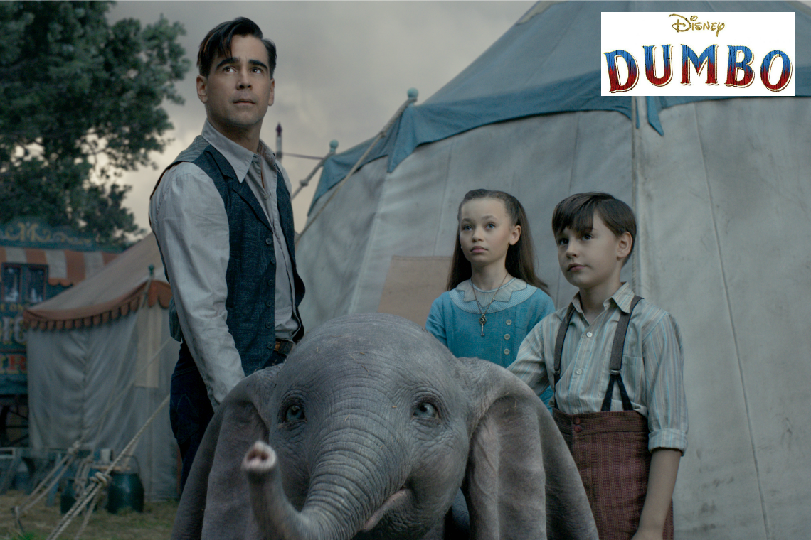 Dumbo on Blu-Ray DVD