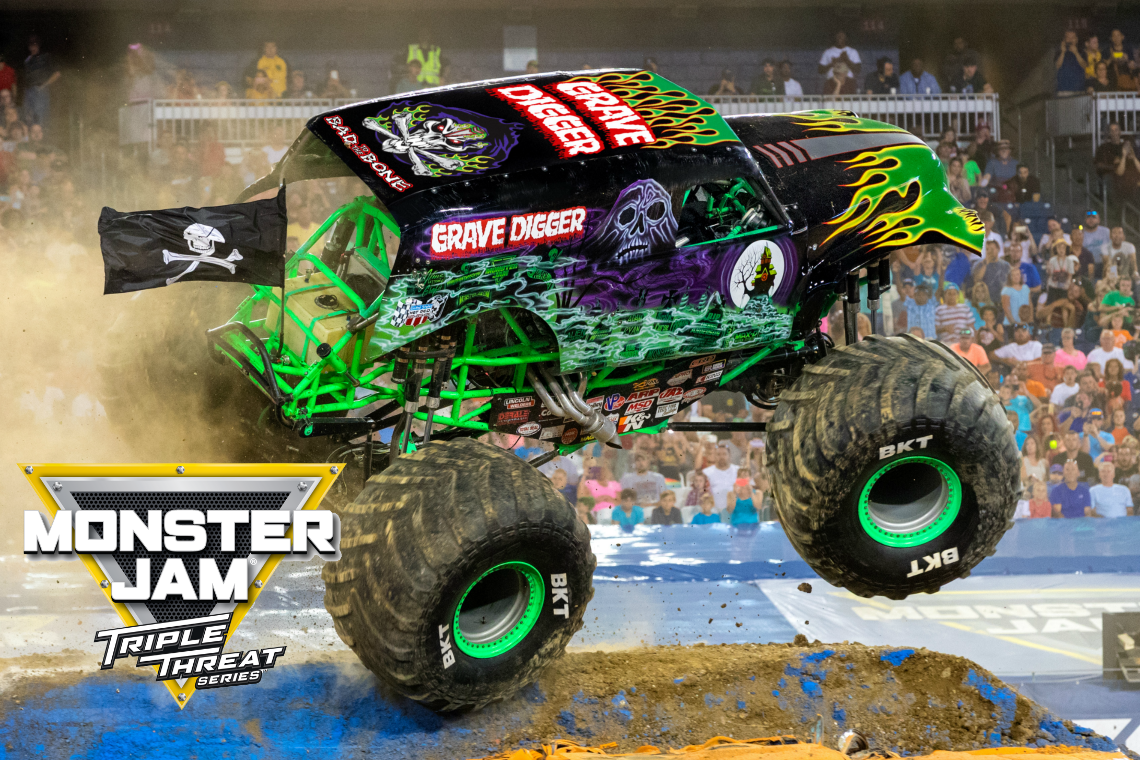Grave Digger Monster Jam Triple Threat