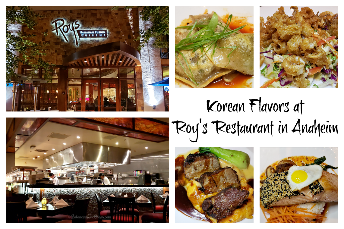 Korean Flavors at Roys Anaheim