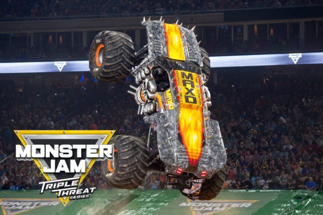 Max D Monster Jam Triple Threat
