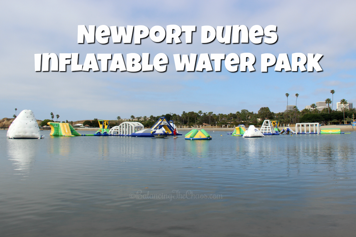 Newport Dunes  Inflatable Water Park Inflatable Obstacle Course