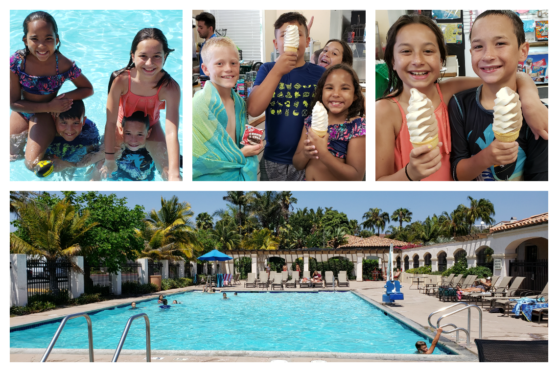 Pool and fun at Newport Dunes Resort