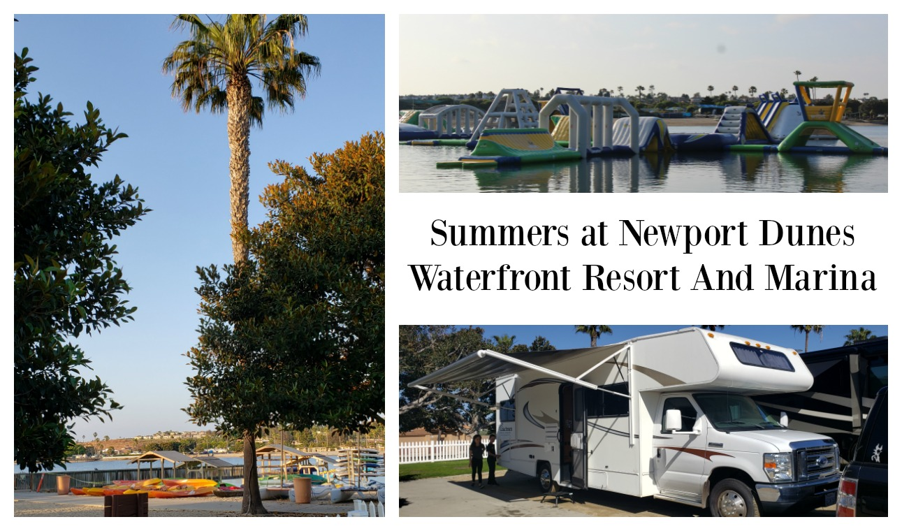 Summer Camping at Newport Dunes Waterfront Resort and Marina