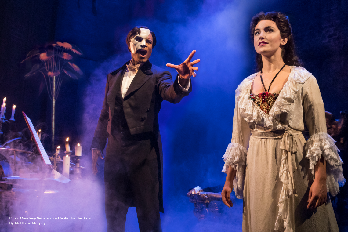 Phantom of the Opera Segerstrom Center for the Arts July 10 - 21