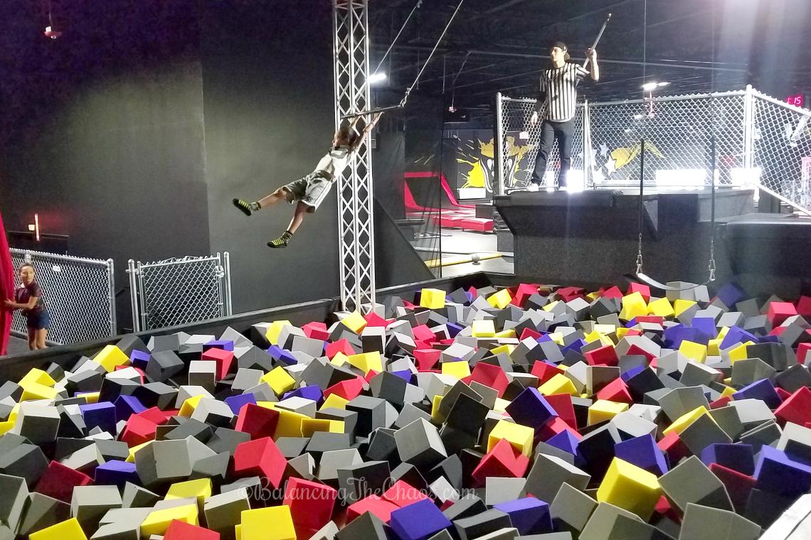 Trapeze at Circus Trix Mission Viejo, CA