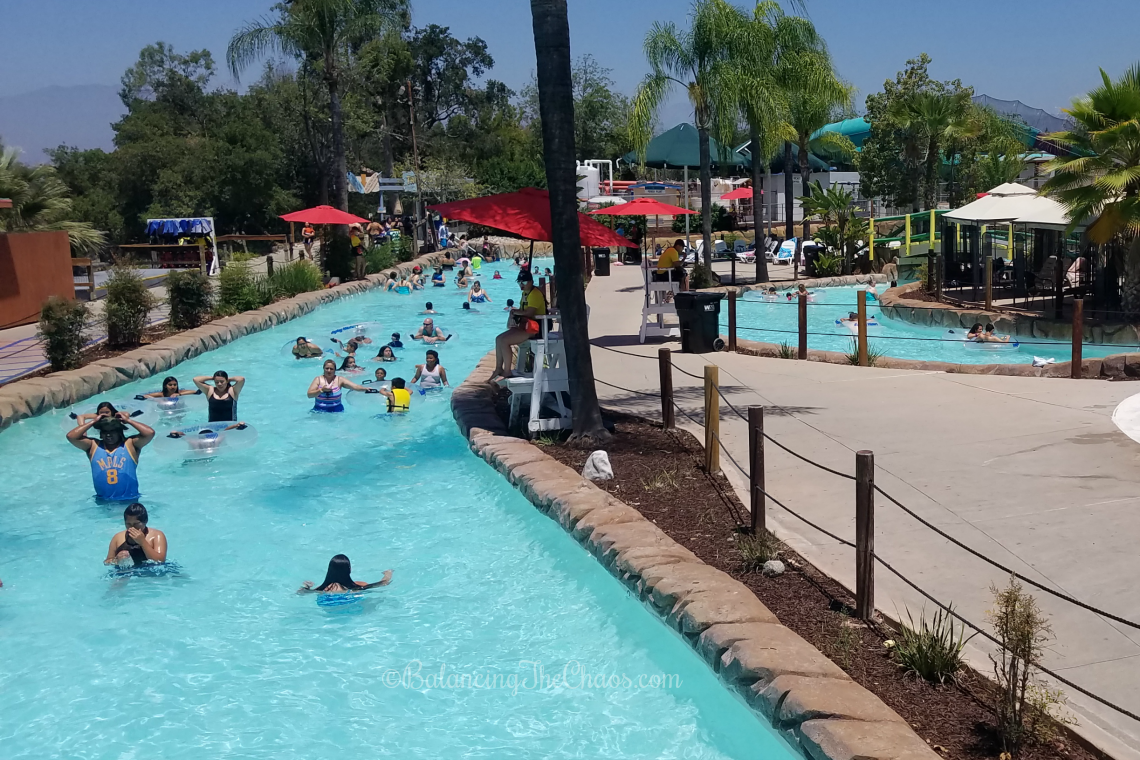 Amazon Adventure Raging Waters LA