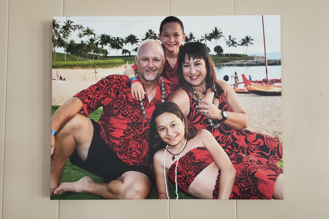 Turning vacation photos into works masterpiece memories with Canvas Factory