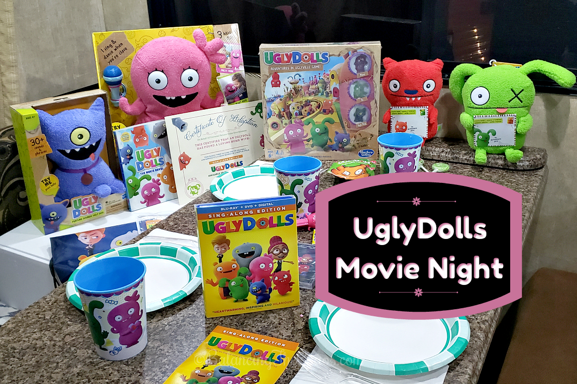 Hosting an Ugly Dolls Movie Night