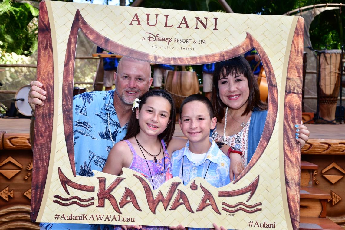 Ka Wa'a Luau at Disney Aulani