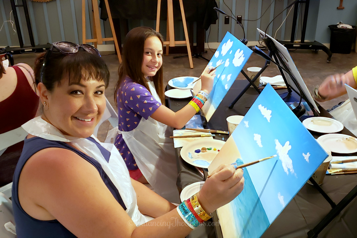 Ohana Painting at Disney Aulani