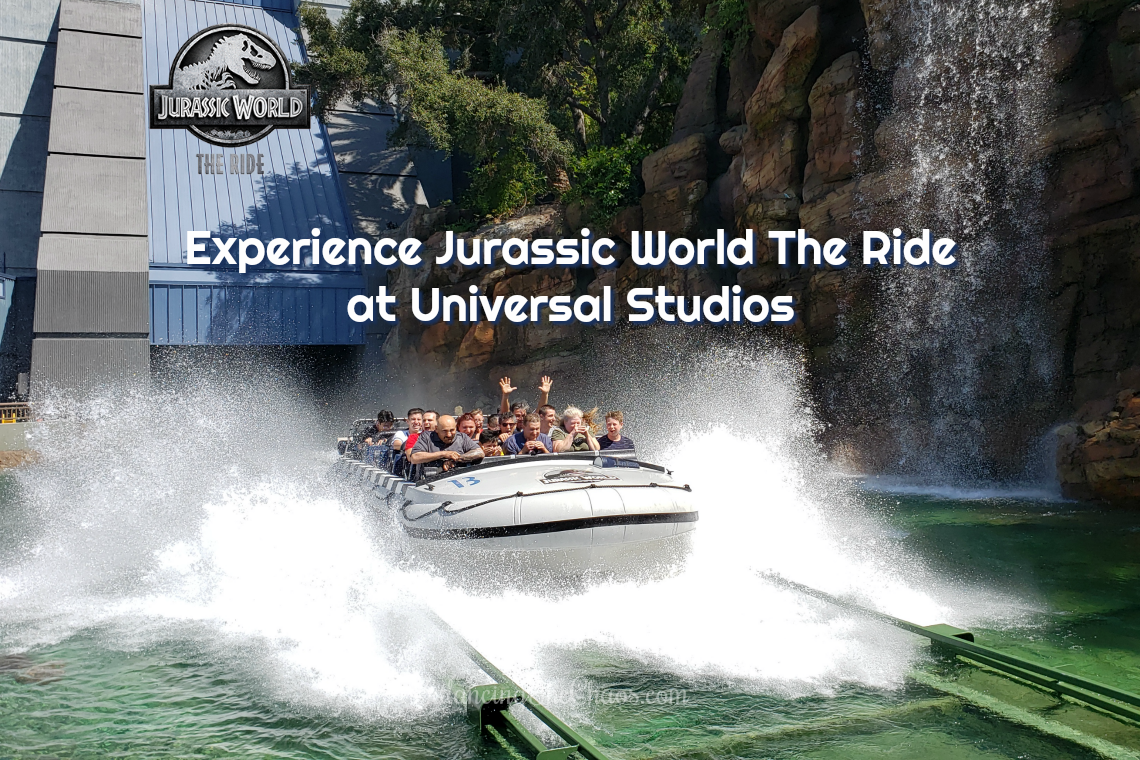 Jurassic World The Ride Universal Studios Hollywood