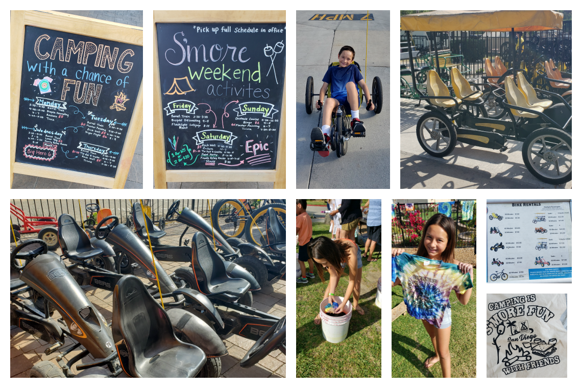 Resort Camping Activities at San Diego Metro KOA