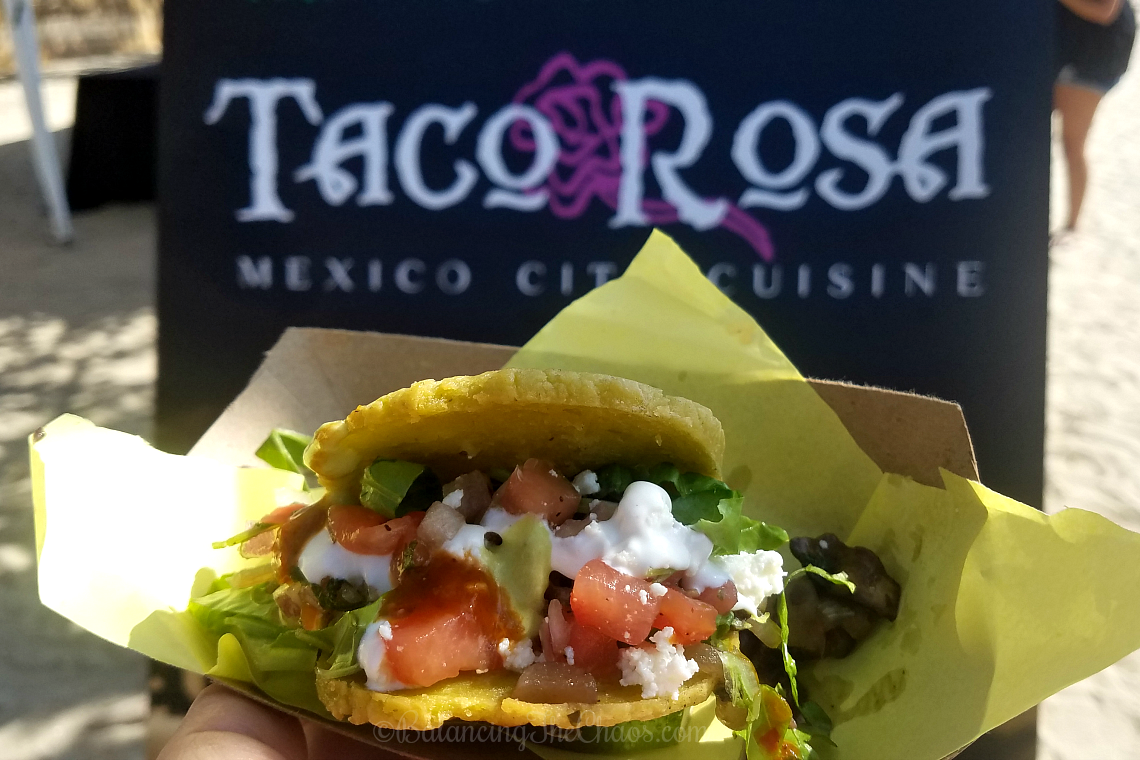 Taco Rosa at Pacific Wine and Food Festival Newport Beach
