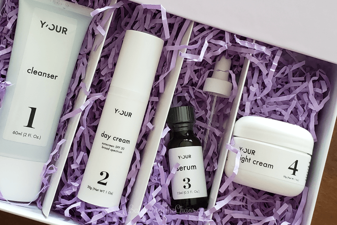 Y'OUR Personalized Skin Care Delivery