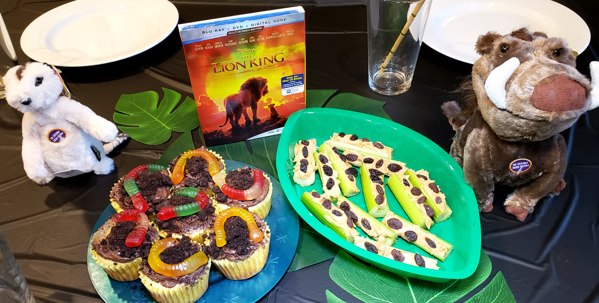Pumba and Timon Inspired Lion King Snacks