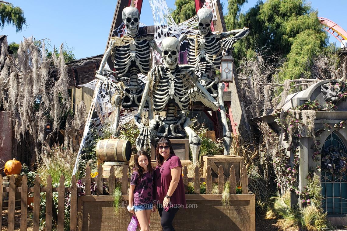 Knott's Scary Farm Knott's Spooky Farm Skeletons at Knott's Berry Farm