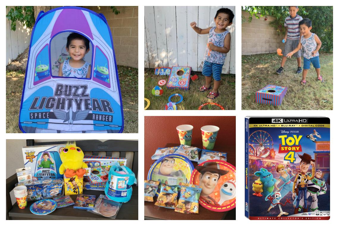 Toy Story 4 Birthday Gift and Celebration