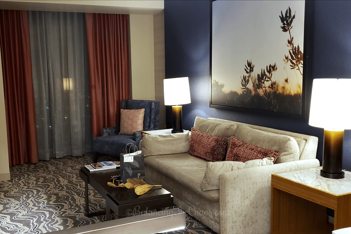 Pechanga Resort Casino Junior Suite Pullout Sofa