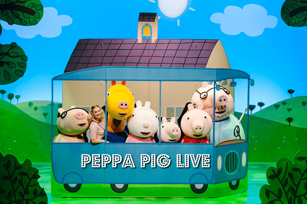 Peppa Pig Live at the Microsoft Theater in Los Angeles November 2019