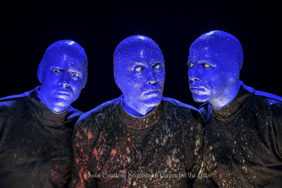 Blue Man Group at Segerstrom Center for the Arts in January 2020
