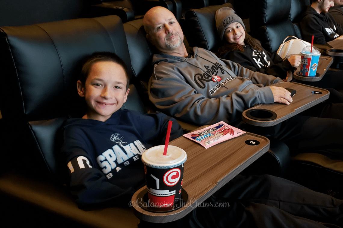 Luxury Loungers at Cinemark Century 25 in Orange