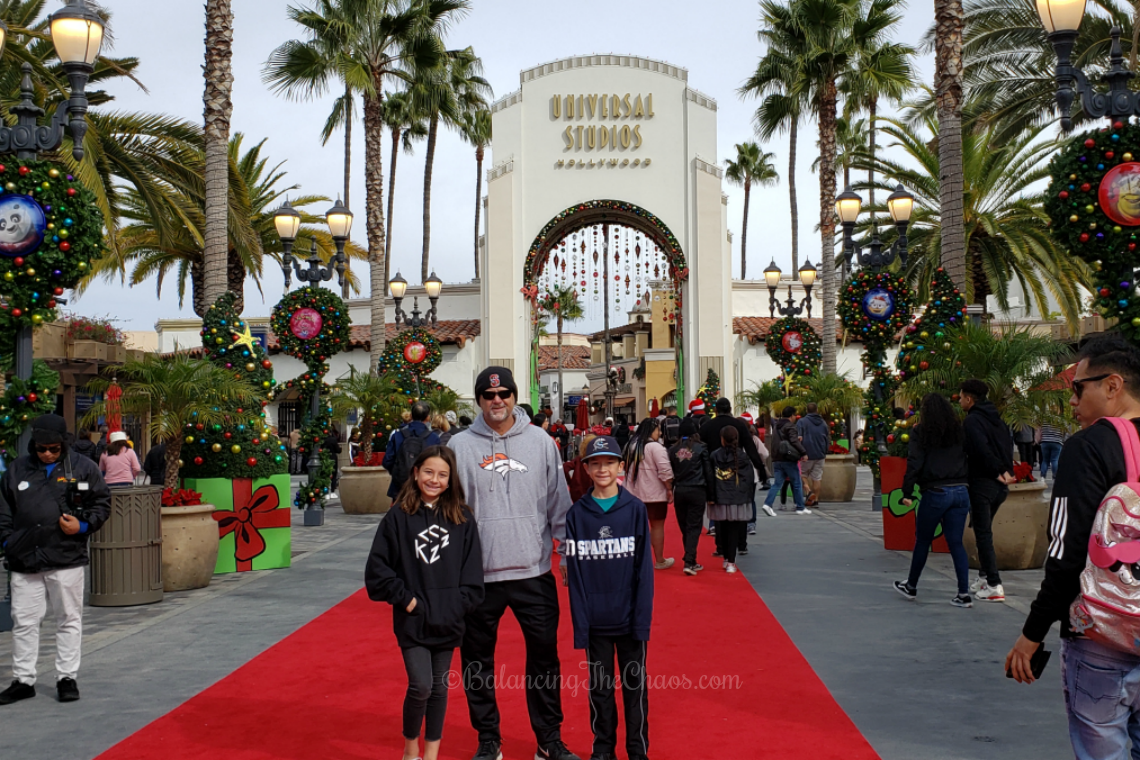 Walking the Red Carpet Universal Studios Hollywood