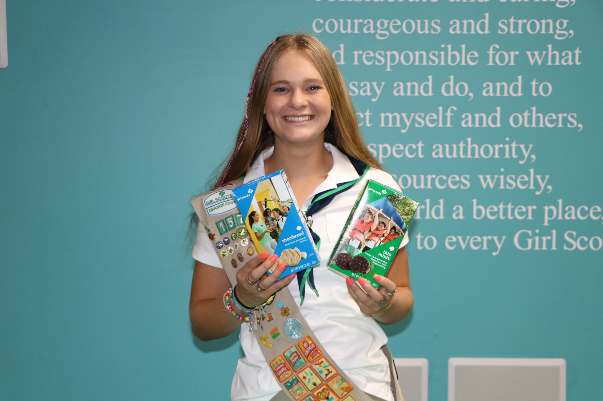 Orange County Girl Scout Ambassador, Trinity Brewer