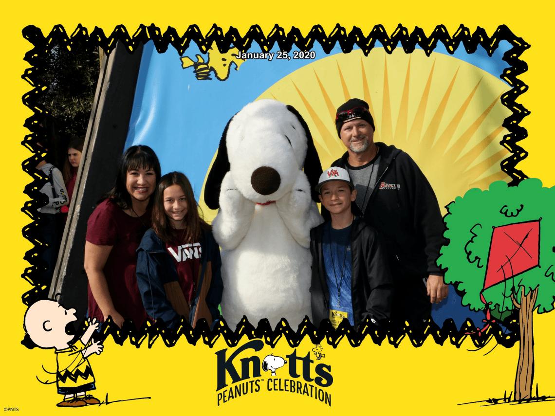 Knott's Peanuts Celebration 2020 Seasons of Fun Knott's 100