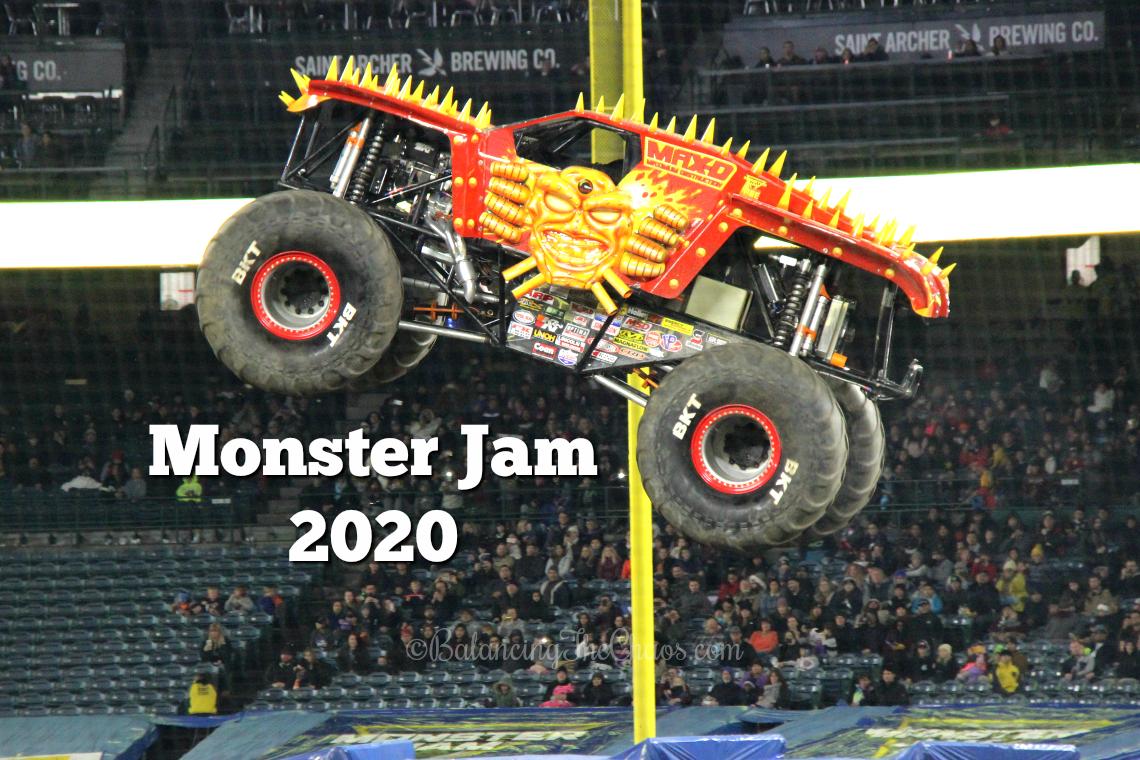 Monster Jam 2020 Takes over Anaheim Stadium
