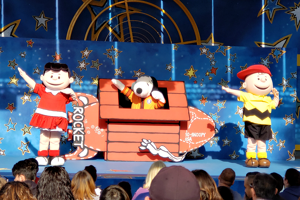 Space Beagle at The Camp Snoopy Theater