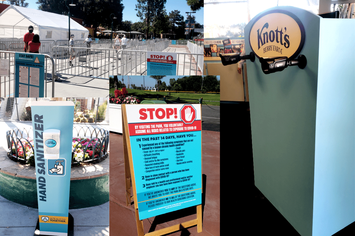 Knotts Taste of Calico Additional Safety Measures
